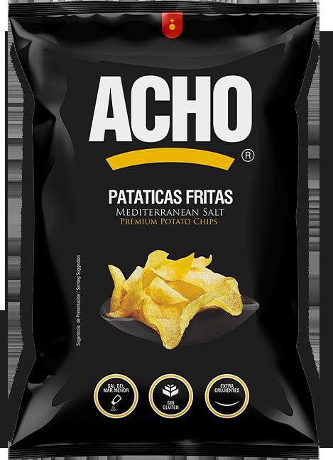 premium potato chips acho