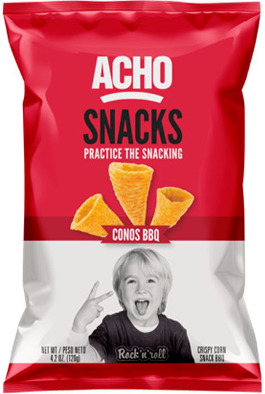 acho conos bolsa snacks